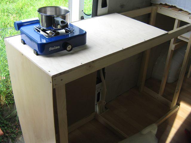 Küchenblock Grundstruktur
