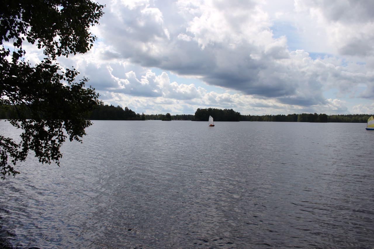 Einmal um den See mit mehr Wasser als geplant