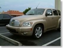 Unser Leihwagen - ein Chevrolet HHR